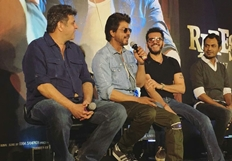 Shah Rukh Khan's Raees Trailer launch pictures
