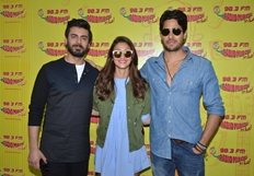 Kapoor & Sons Team At 98.3 FM Radio Mirchi