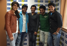Avasaraniko Abaddam Team at Big FM