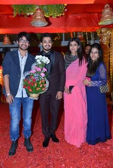 Producer Krishna Reddy Son Wedding Reception