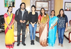 Iruthi Suttru Team at Sathyabama University Stills