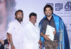 Irudhi Suttru Thanks Media Meet Stills