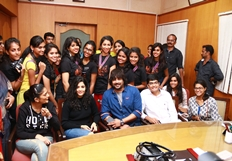 Irudhi Suttru Team in Ethiraj College Photos