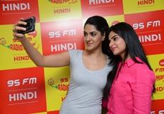 Selfie Raja Team At Radio Mirchi Photos