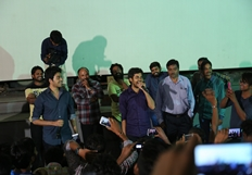 Rojulu Marayi Team In Rajdhani Theatre