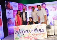Oopiri Team Chit Chat With Physically Challenged People Photos