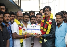 Sathuranga Vettai 2 Movie Pooja Photos