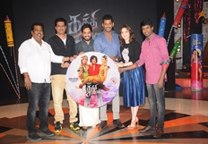 Kaththi Sandai Movie Audio Launch Photos