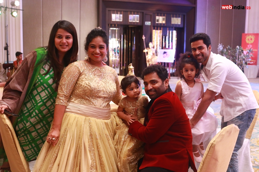 Shobi Lalitha Daughter Syamantakamani Ashvika 1st Birthday
