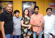 Siddardha Team Visits At Lakshmi Kala Theater