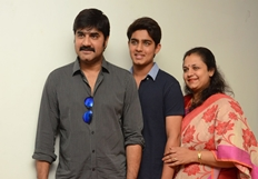 Hero Srikanth Family Nirmala Convent Interview Photos