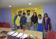 Tanu Vachenanta Team At Radio Mirchi Photos
