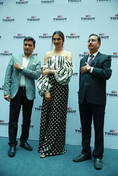 Deepika Padukone Launches Tissot Bella Ora in City