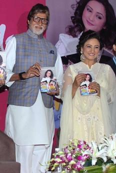 Amitabh Bachchan launches Divya Dutta's book