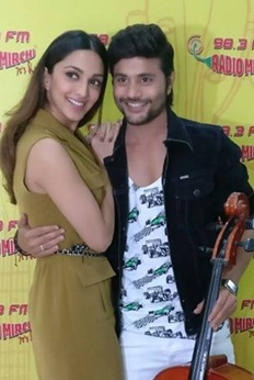 Machine stars Mustafa and Kiara Advani visit Radio City 91.1FM