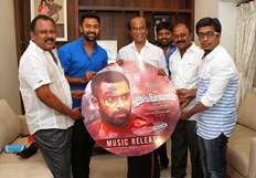 Mupparimanam Team joins with Superstar Rajinikanth