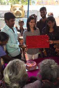 Actress Varalakshmi Sarathkumar Birthday Celebration Stills