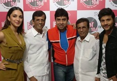Machine stars Mustafa and Kiara Advani visit Radio City 91.1FM
