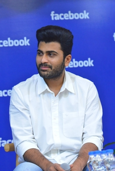 Dil Raju & Sharwanand At Facebook Office Photos