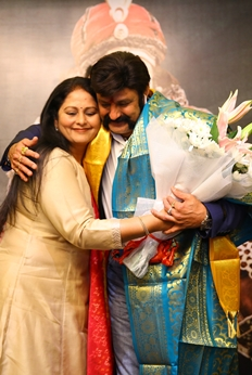 TSR Felicitates Balakrishna & Krish Photos