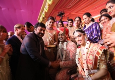 Celebs at T Subbarami Reddy Grandson Keshav Wedding Ceremony