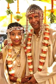 Milind Soman Marries Ankita Konwar. See Pics