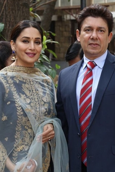 Madhuri Dixit launches her production house : Photos