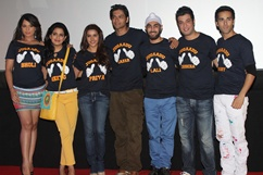 Fukrey film song launch - Stills