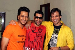 Promotion of film Grand Masti Stills