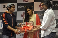 Launch of home video of film Bhaag Milkha Bhaag - Stills