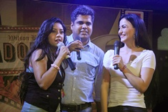 Promotion OF film Mickey Virus at Adorea college festival