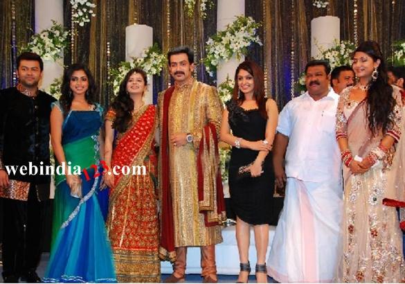Prithviraj Wedding Reception Photosmalayalam Event