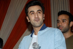 Ranbir promote his upcoming film 'Yeh Jawaani Hain Deewani' Stills