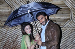Ranveer & Sonakshi on sets of TV serial Uttaran