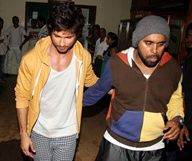 Shahid, Ileana on sets of Phata Poster Nikhla Hero