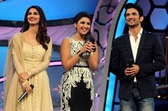 Shuddh Desi Romance promoted on sets of Zee TV's DID Super Mom - Stills