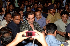 Hrithik Roshan at Special screening of film Krrish 3 - Stills