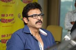 Venkatesh Promotes Masala at Radio Mirchi Stills