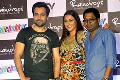 Vidya and Emraan promotes film Ghanchakkar Stills