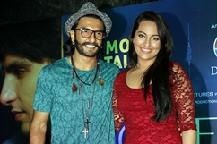 Sonakshi, Ranveer launch Mobile Talkies - Stills