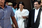 Tabu and Sonali arrive to attend court for the Black buck case - Stills