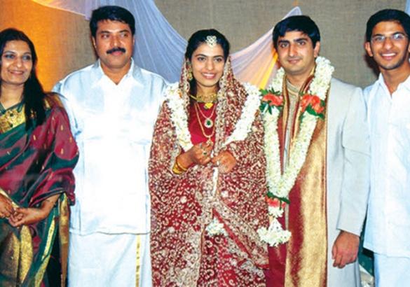 Malayalam Actors With Their Family Indrajith Jayaram Kunjacko Boban Mammootty