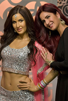 Bollywood stars at madame tussauds museum