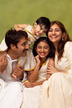 Malayalam Actors with their Family