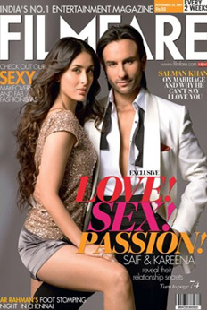 Bollywood's fake couples on magazine covers