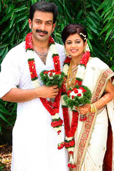 Wedding Photos of South Indian Actors