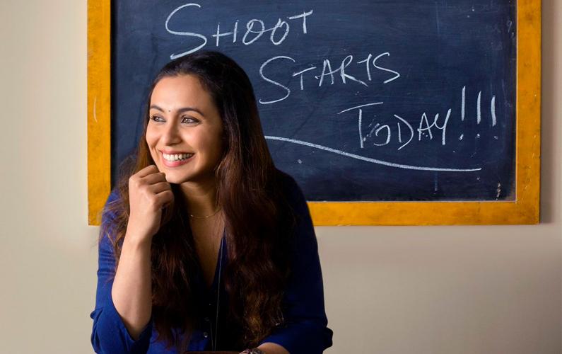 Rani Mukerji begins shoot for comeback movie 'Hichki'