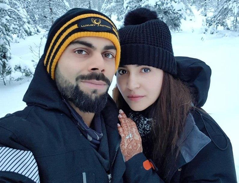Anushka, Virat enjoy honeymoon in 'heaven'