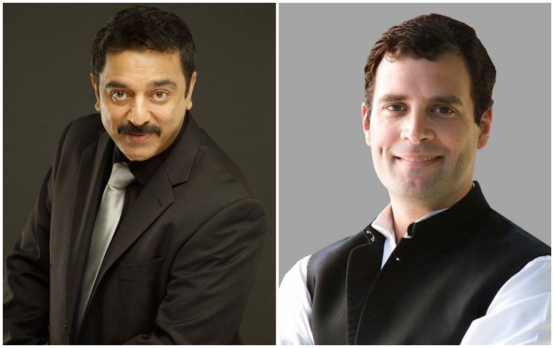 All strength to your shoulders: Kamal Haasan to Rahul Gandhi