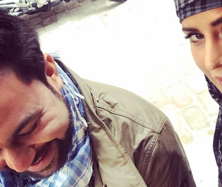 Ali Abbas Zafar, Katrina Kaif 'laugh, pose'